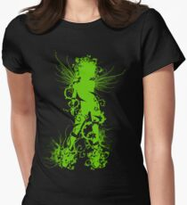 Female Spirit of Nature Womens Fitted T-Shirt