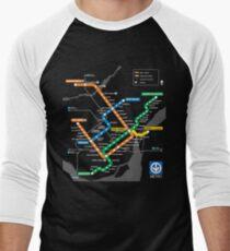 STM Montreal Metro Men's Baseball ¾ T-Shirt