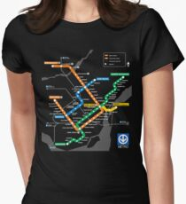 STM Montreal Metro Womens Fitted T-Shirt