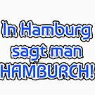 Hamburger accent hamburch gift idea northern light by qwerdenker