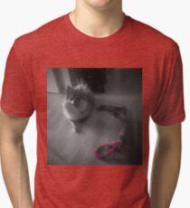 Pompom Tri-blend T-Shirt