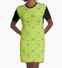 Kawaii Osterdesign T-Shirt Kleid