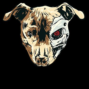 The Terminadog is the pet from the Terminator by PM-TShirts