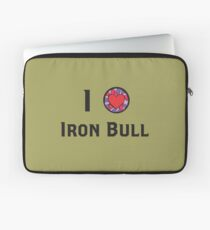 I Heart Iron Bull Laptop Sleeve