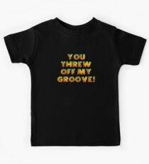 Thrown Off Groove Kids Tee
