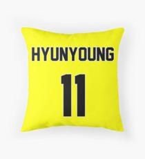 Rainbow Hyunyoung Jersey Throw Pillow