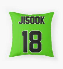 Rainbow Jisook Jersey Throw Pillow