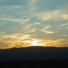 Desert Sunset by ellc