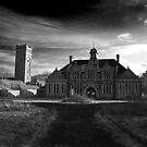 St Mary's Black and White by Chris Hardley