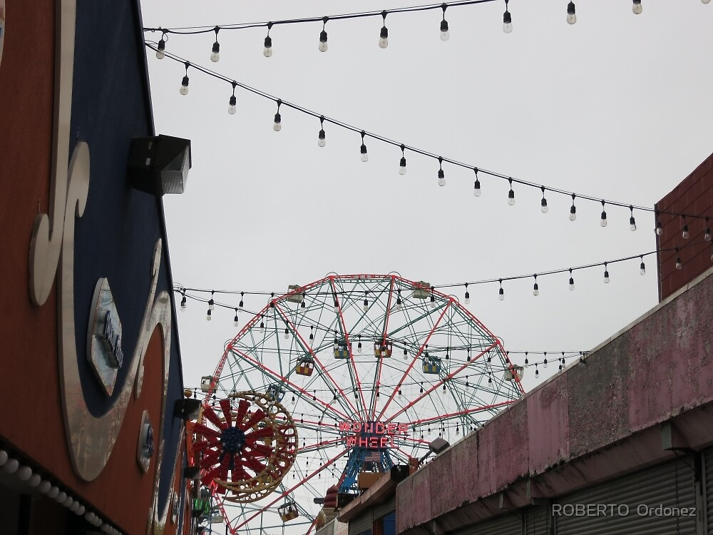 I love Coney Island by Robert Ordonez