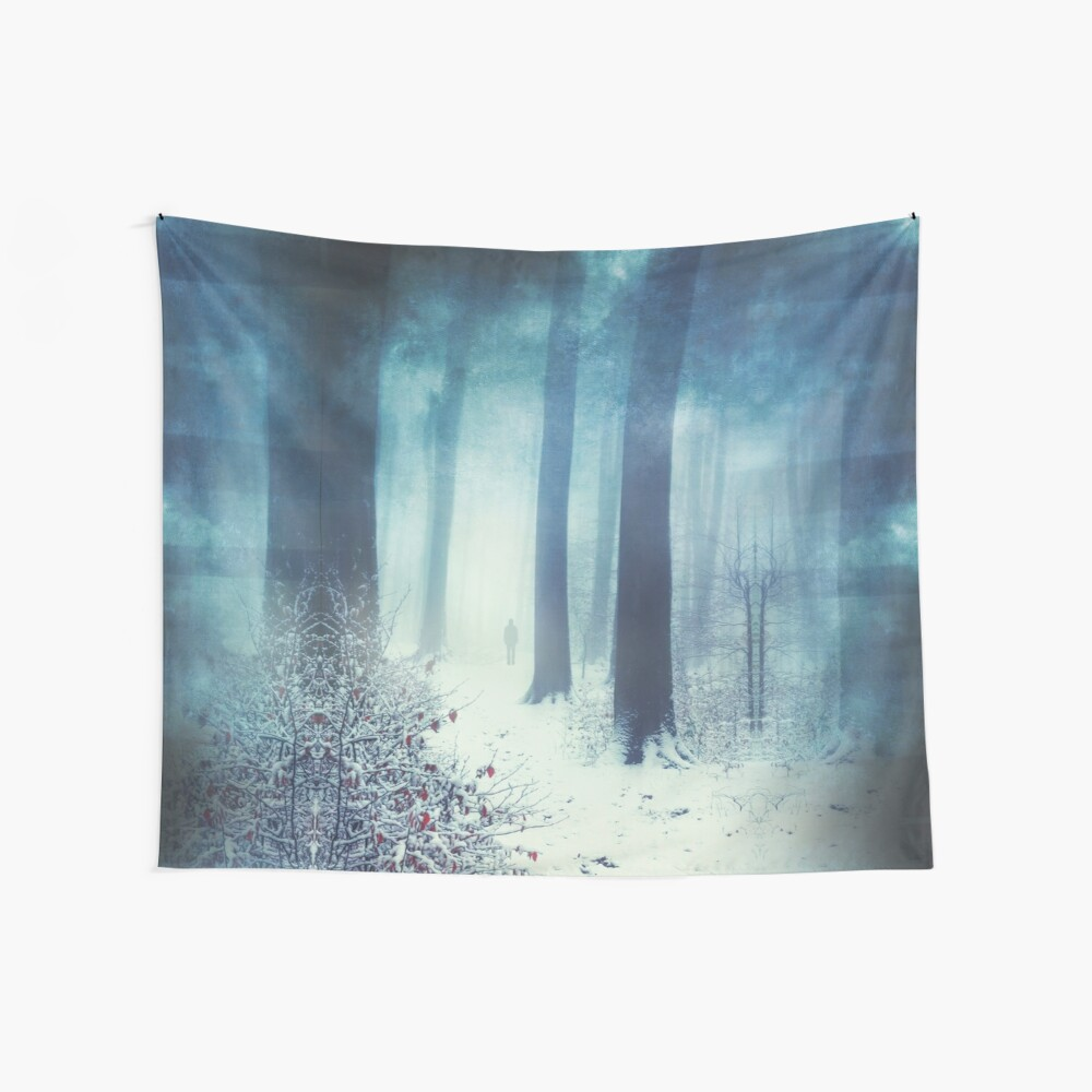Out In The Cold Wall Tapestry