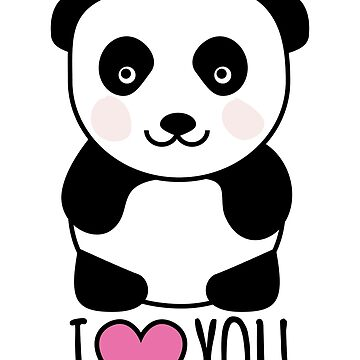Panda loves you by Petitxuilus