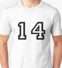 Nummer vierzehn Unisex T-Shirt