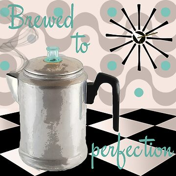 Vintage Fifties Kitchen Coffee Pot by mindydidit