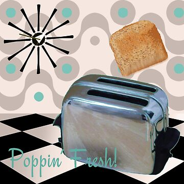 Retro 1950's Kitchen Toaster by mindydidit
