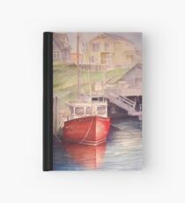 Peggys Cove Red Boat Hardcover Journal