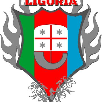 Liguria - Italy - Coat of Arms by lemmy666