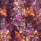 Colorful Rusty Abstract Print by DFLC Prints
