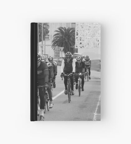 Tuck that tongue in, or it'll catch on yer spokes!! Hardcover Journal