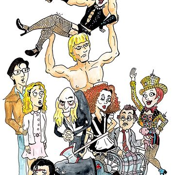 Rocky Horror Picture Show by clockworkmonkey