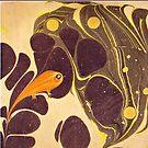 Koloman Moser artwork, Fish by virginia50