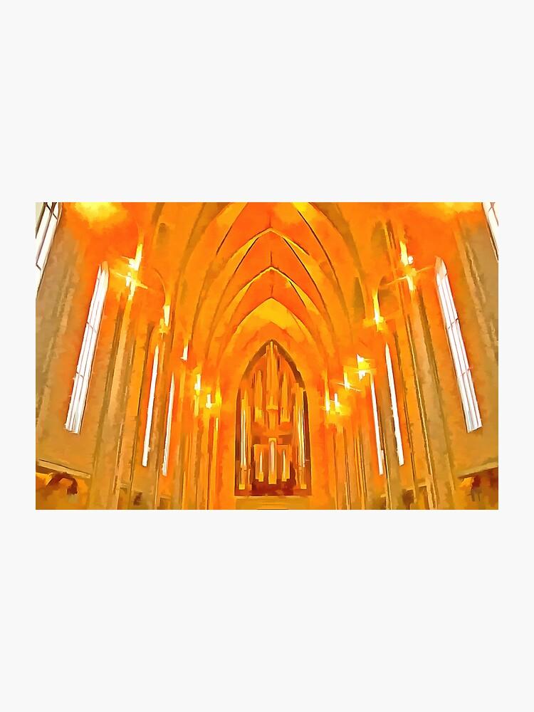 Church Of Hallgrimur Pop Art | Photographic Print