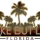 Lake Butler Florida palm tree words by artisticattitud