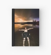 Jasper Lake Trust Fall Hardcover Journal