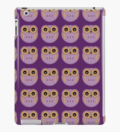 Purple Owls iPad Case/Skin