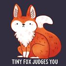 Tiny Fox Judges you by michelledraws