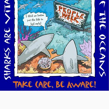 Earth-Toon. Save the Sharks! by JimStilwell
