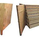 Jewelry Cabinet Nightstand by Robert's Woodworking Studio