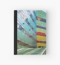 Colorful walls (5) Hardcover Journal