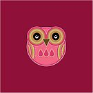 Pink Owl by Louise Parton