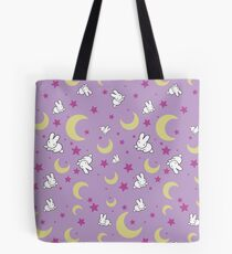 Usagi Blanket Sailor Moon Pattern  Tote Bag