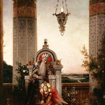 "Gustave Moreau ""King David"" by ALD1"