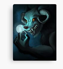 The Werething Canvas Print