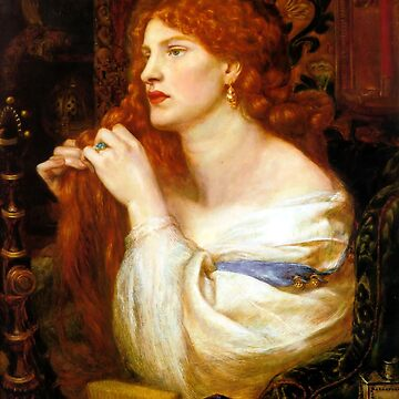Aurelia (Fazio's Mistress) - Dante Gabriel Rossetti by forgottenbeauty