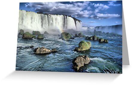 Iguacu falls by leksele