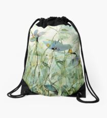 wild floral Turnbeutel