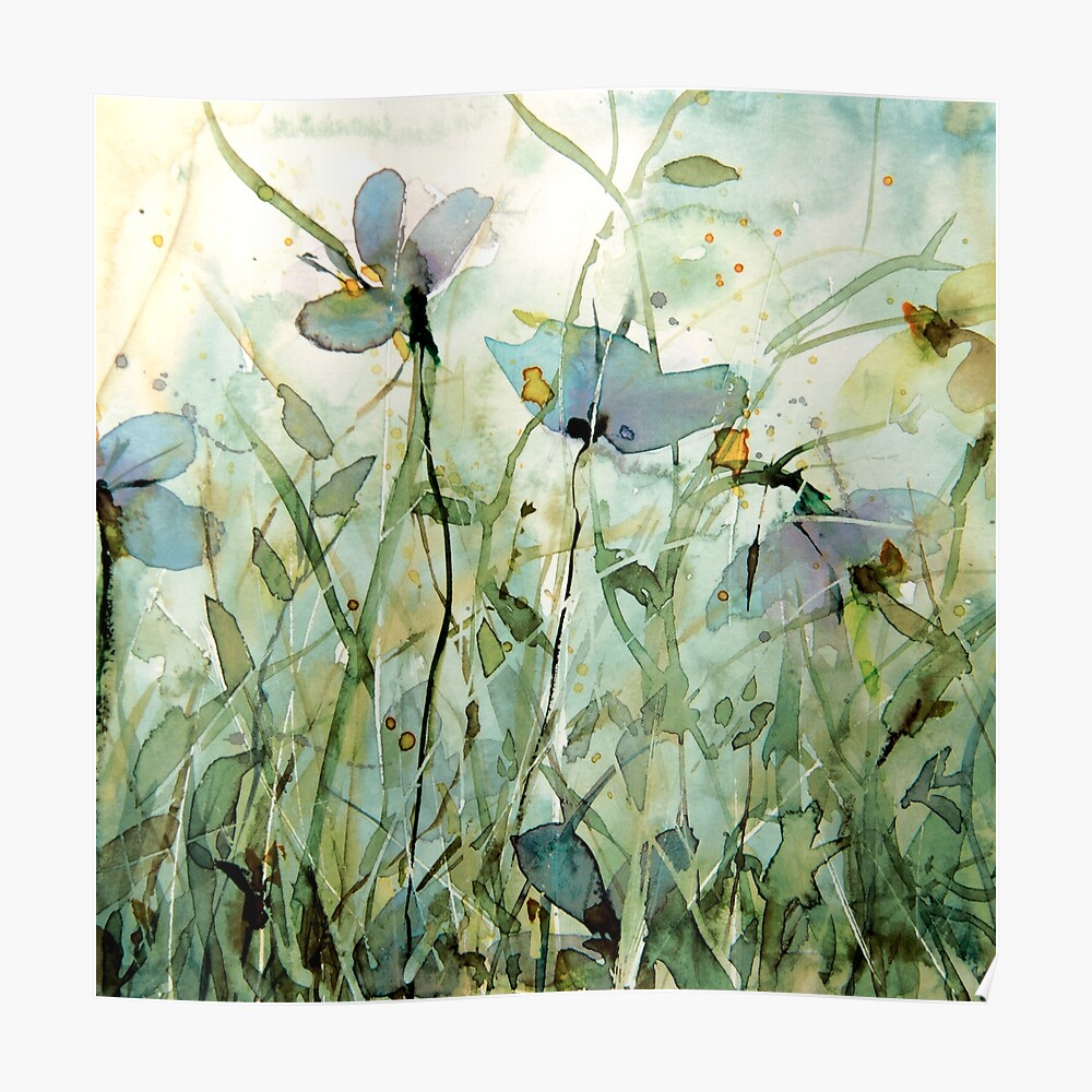wild floral Poster