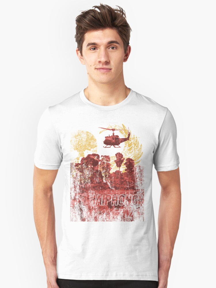 Haiphong '72 in Color Unisex T-Shirt Front