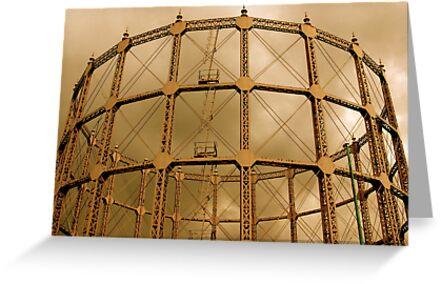 Gas Tower by Richard Pitman