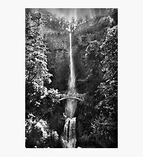 Watching Water Fall II Photographic Print
