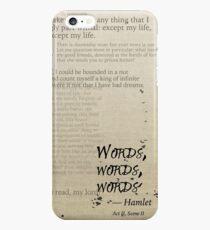 Hamlet: Words, Words, Words iPhone 6s Plus Case