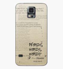 Hamlet: Wörter, Wörter, Wörter Hülle & Skin für Samsung Galaxy