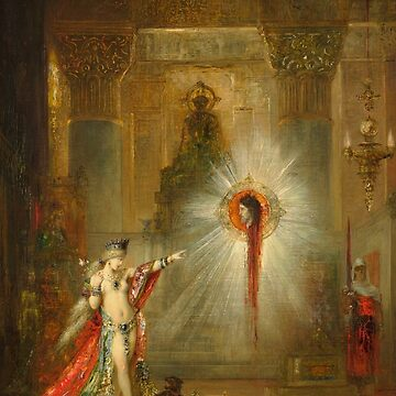 "Gustave Moreau ""The Apparition"" by ALD1"