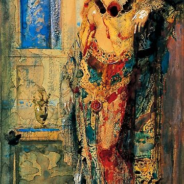 "Gustave Moreau ""The Toilette""  by ALD1"