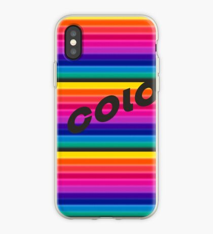 Design Trend in font and colour for 2019! iPhone Case