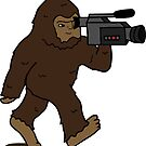 Bigfoot with a Video Camera by KatieHartraft